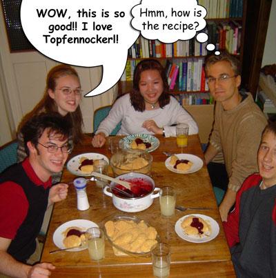 Topfennockerl comic