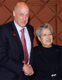 Hank Paulson and Wu Yi